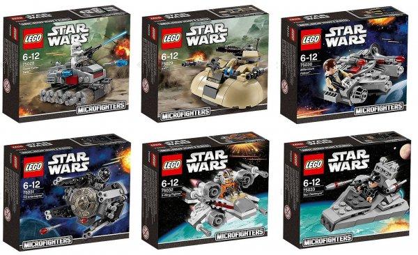 LEGO Star Wars Microfighters - Kaufe 3 und zahle 6,60€ statt 9,90€ bei Karstadt.de