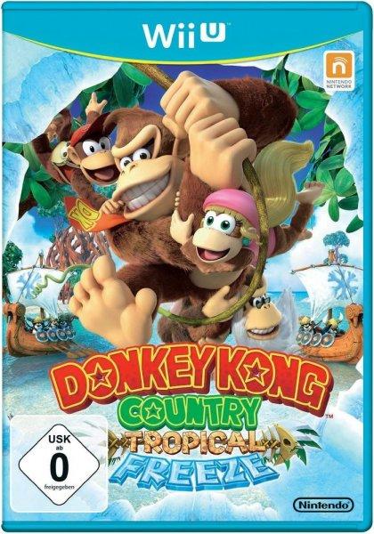 Donkey Kong Country Tropical Freeze [ Wii U ] für 36,23€ vorbestellen