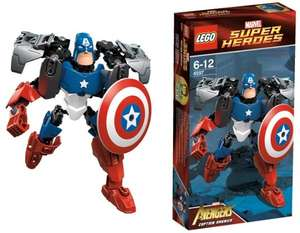 LEGO Super Heroes 4597 - Captain America EOL