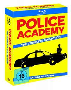 Police Academy Complete Collection Blu-Ray (29,97 Euro) [Amazon.de]
