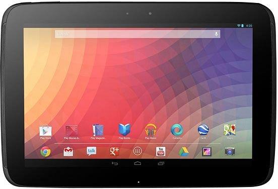 """Google Nexus 10 32GB für 309€ @ computeruniverse - 10"""" Tablet mit 2560x1600 Pixeln"""