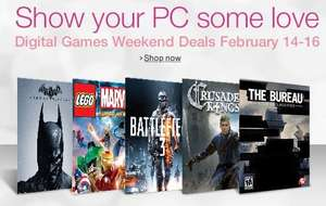 Amazon.com Digital Games Weekend Deals / BF3, Dead Space 3, Crysis 3 für je 3,65€ uvm.