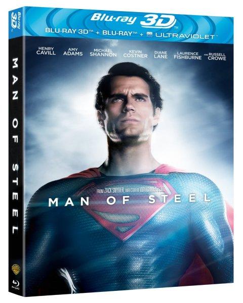 [Amazon.uk Tagesangebot] Man of Steel [Blu-ray 3D + Blu-ray + UV Copy] für ca. 14,86 inkl. Vsk
