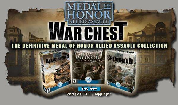 [GOG.com] Medal of Honor: Allied Assault War Chest für 1,50 EUR