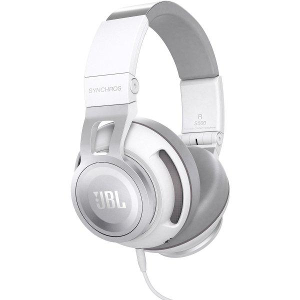 JBL Synchros S500 (weiss) aktiver Over-Ear Kopfhörer für 206€ @Amazon.fr