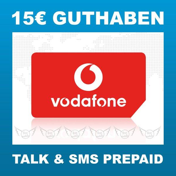 Vodafone Prepaid Sim Karte 15€ Startguthaben D2 Callya Prepaid