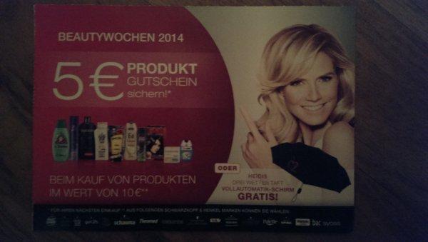 Beautywochen 2014 für 10 Euro Einkauf Prämie sichern!