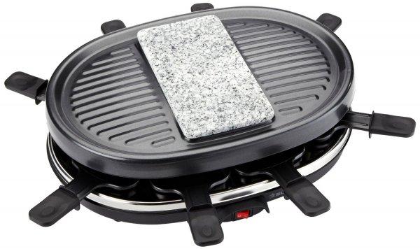 Suntec  RAC- 9097 Raclette 8 Grillpfannen für 24.95€ @ DC