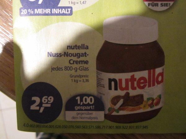 REAL - Nutella - 2,69 Euro