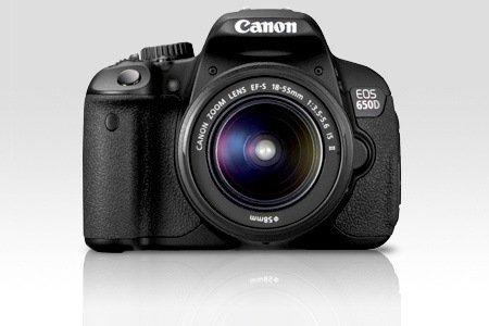 Canon EOS 650D im Kit mit Objektiv 18-55