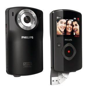 Philips CAM110BL HD Camcorder (1080p, 5x Digital) - Refurbished für 36,65€ inkl. Versand