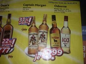 [Dursty] Captain Morgan für 8.99€