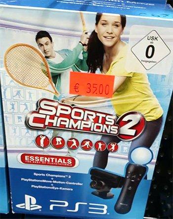 PlayStation Move Sport Champions 2 Kamera Bundle @Saturn Stuttgart