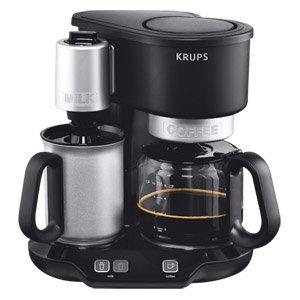 Krups, Kaffeemaschine KM 3108 Café & Latte3108 mit Milchaufschäumer