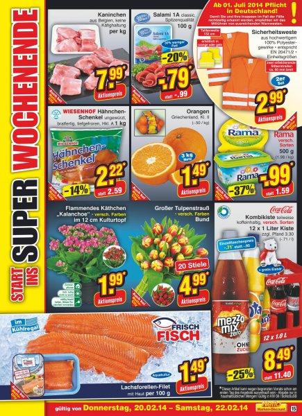 Sicherheitswesten im 2er Set für 2,99€  Netto Marken-Discount