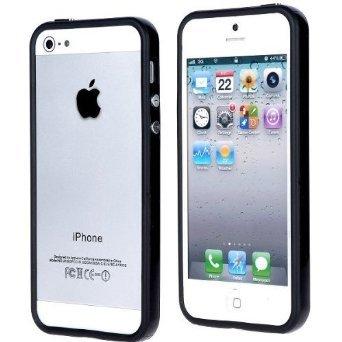 [Preisfehler?] iProtect Bumper iPhone 5 5S Schutzhülle Hülle schwarz