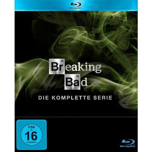[Müller] Breaking Bad - Die komplette Serie DVD / Blu-ray für je 80€
