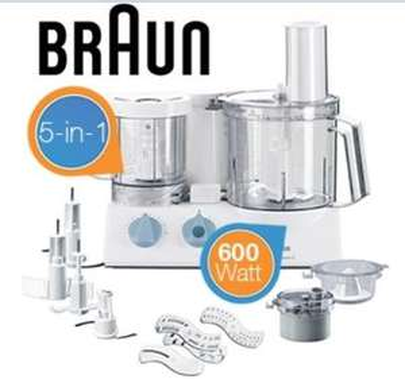 IBOOD.com - Braun Multiquick 5 Küchenmaschine K700  - 99,95€ + Vsk