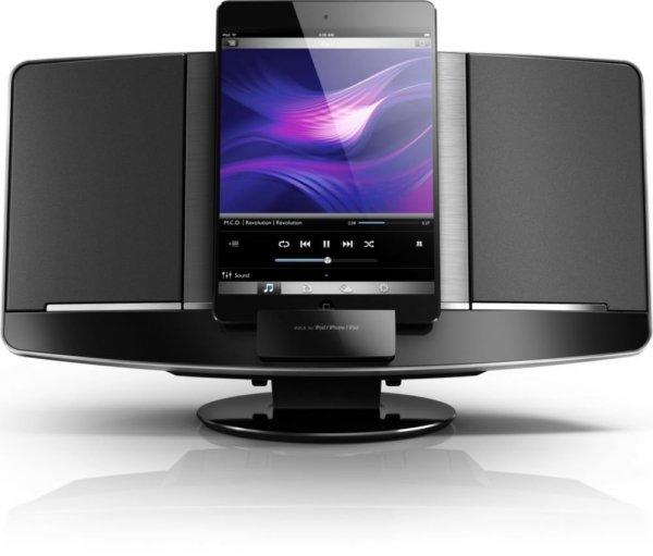 Philips DCM2068/12 Mini-Stereoanlage mit Lightning, 2x10W, CD, USB für 79,99€ @Gravis