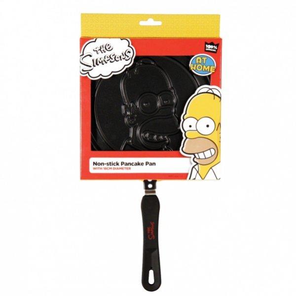Homer Simpson Pfannkuchen Pfanne nun für 8,95 Euro + 2,90 Euro Versand