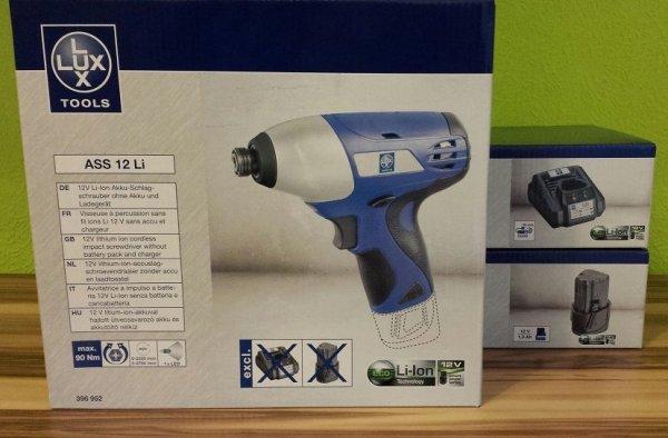 Lux Tools Akku-Schlagschrauber für 39,99 Euro