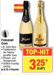 Freixenet Cava Sekt 0,75L für 3,87€ inkl. MwSt. @Metro