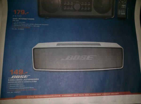 [Lokal Saturn Nürnberg / Fürth] Bose Soundlink Mini -  149€