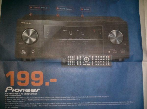[Lokal Saturn Nürnberg / Fürth] Pioneer VSX 528 K - 199€