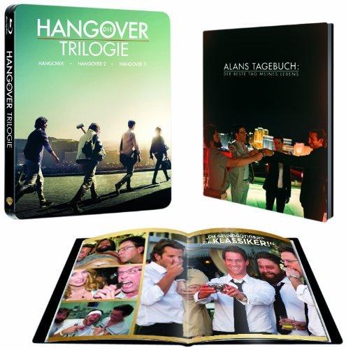 [Amazon.de] Hangover Trilogie Steelbook [Blu-ray] für 24,97 €  ohne Vsk