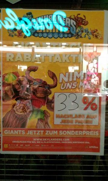 "[Lokal Köln] 33% Rabatt auf alle Giants-Figuren von ""Skylander"" im MM Köln Hohe Straße"