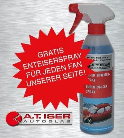 Gratis enteisungsspray lokal in nufringen @a.t. Iser autoglas