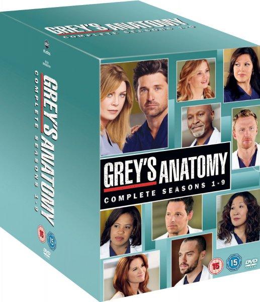 Grey's Anatomy - Staffel1-9 DVD - O-Ton für 61,10€ inkl. Versand
