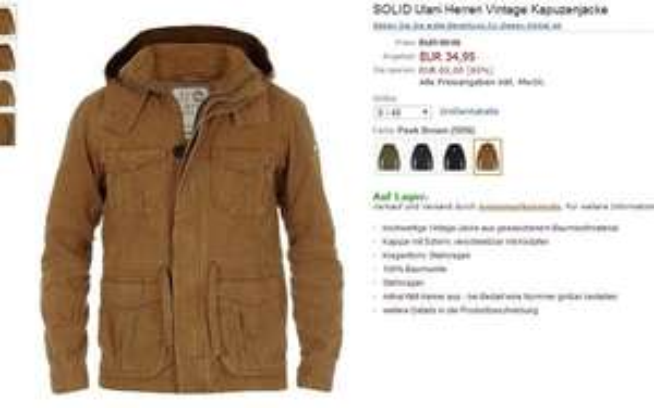 Solid Ulani Parka Übergangsjacke 34,95€