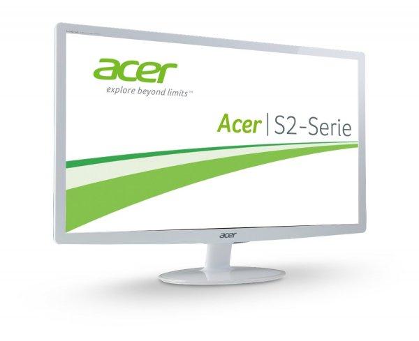 "Acer™ - 24"" LED-Monitor ""S242HLCWID"" (Full HD,VGA,DVI,HDMI,2ms) für €130.- [@Amazon.de]"