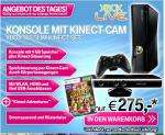 Xbox Slim 4GB Kinect Bundle inkl. Kinect Adventures (346,03€ als 250GB)