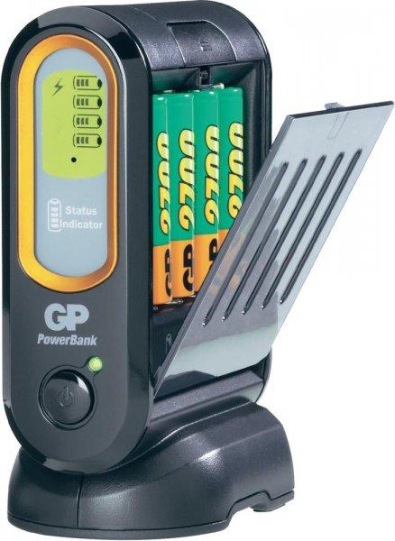 Ladegerät GP POWERBANK V600D + 4x AA 2700mAh für 37€ @ digitalo