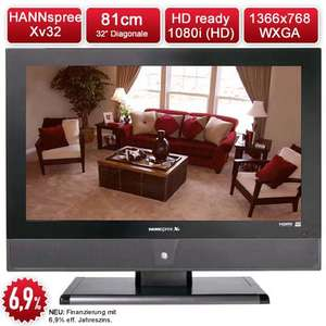 "HANNspree 32"" HDready TV für € 215,-"