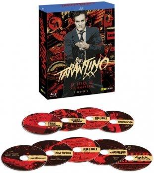 Tarantino XX - 20 Years of Filmmaking [9 Blu-rays] @alphamovies (49,99 € inkl.)