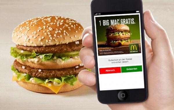 [Lokal Raum Regensburg] Kostenloser Big Mac durch App-Download