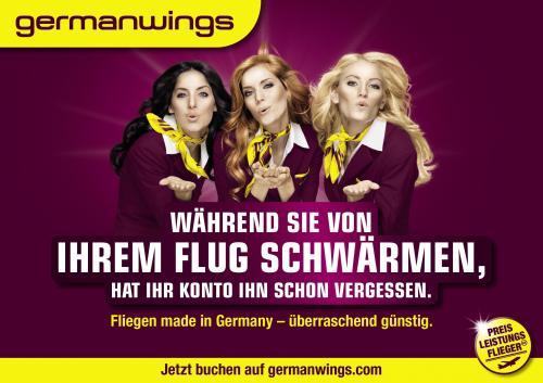 Germanwings - Flüge nach irgendwo ab 24,99 EUR