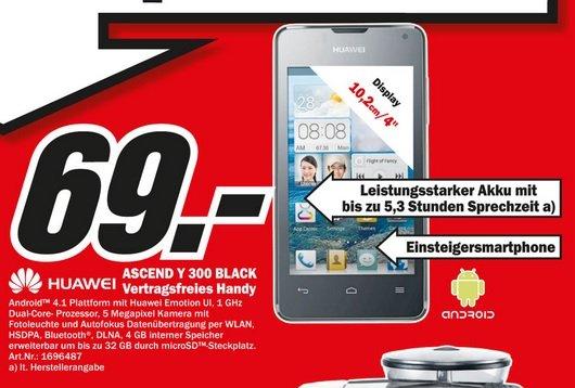 Huawei Ascend Y300 Black 69€,Epson WorkForce WF-2540WF 69€,Philips 46PFL3208K 399€ Lokal [Mediamarkt Siegen]