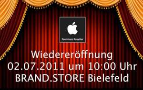 [lokal] Apple BRAND.STORE Wiedereröffnung in Bielefeld