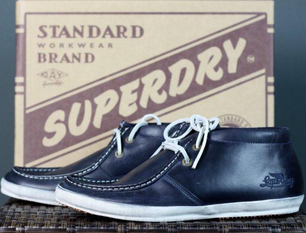 [ebay] Superdry Fluke NAVY 43 Schuhe