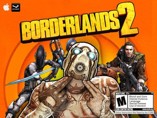 Borderlands 2 mit Steamkey für nur 7,29 €