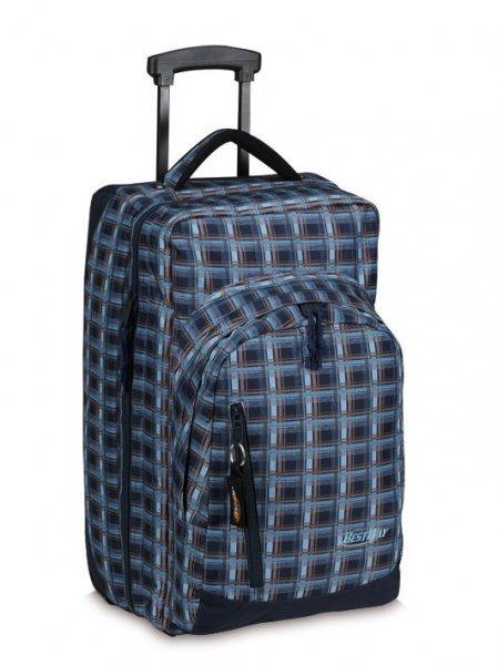 BestWay Rollenreisetasche marineblau 55x25x30 cm für 9,90€ inkl. Versand!