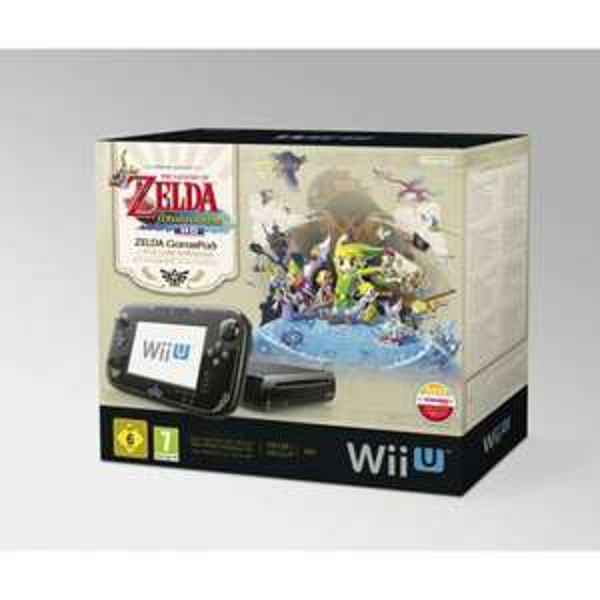 Nintendo Wii U Premium + Zelda Wind Waker  eventuell nur Lokal bei FLÖSCH Raum Lehr, Müllheim, Emmendingen
