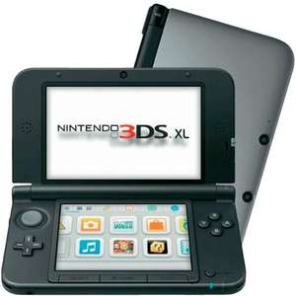3DS XL Silber & Schwarz für 144,90€!