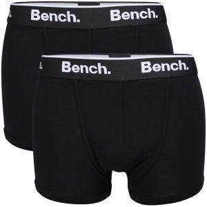 Bench Men's 2-Pack Boxers - schwarz für 10,90€ inkl. Versand