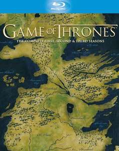 Game of Thrones Season 1-3 Blu-Ray Box (~66,80 €) [Zavvi.com]
