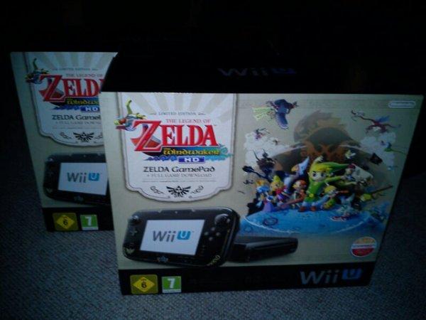 Expert Promedia Ahlen Wii U Zelda Pak 199€